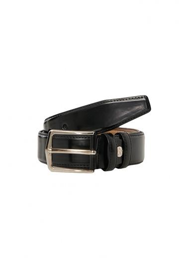 Altınyıldız Classics Klasik Düz Takım Elbise Kemeri 4A2421200203 Siyah